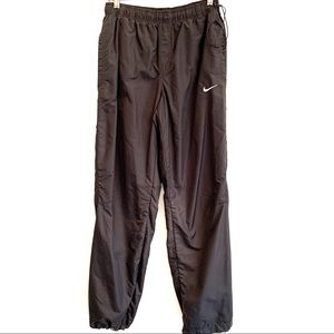NIKE ATHLETIC PANTS DRAWSTRING WAIST AND ANKLES